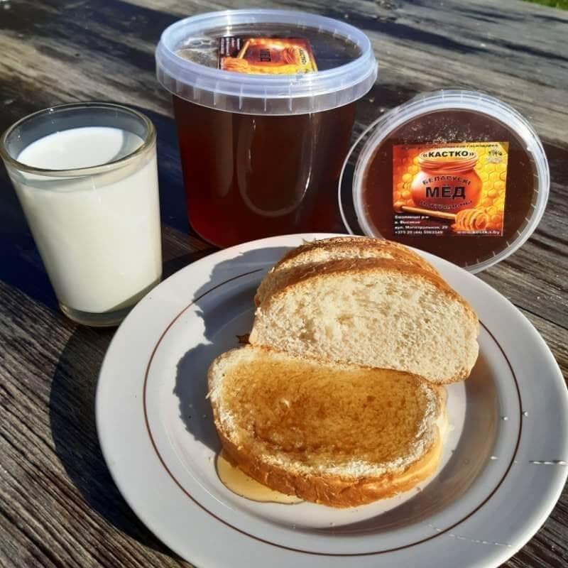 Натуральный мёд 1л